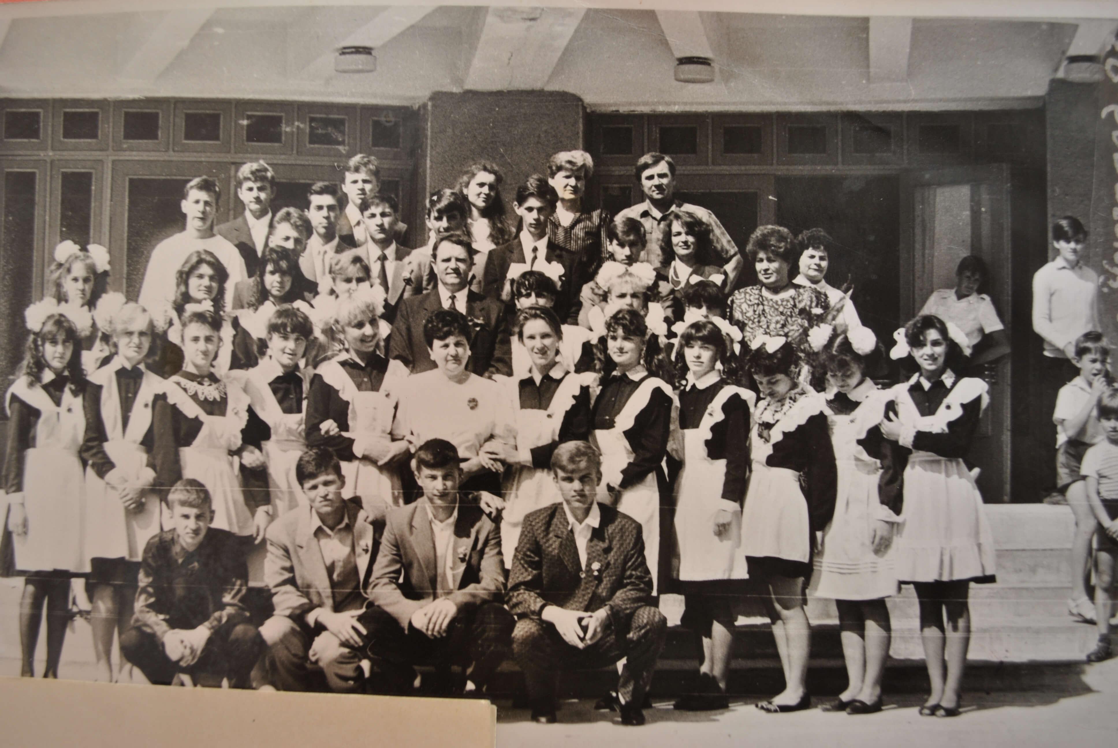 Перший випуск школи