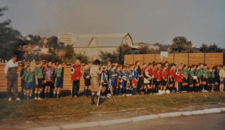 Відкритття спортивного майданчика (2005 р.)